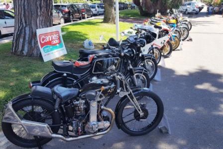 cannes moto club le club au festival auto moto retro 2017 cannes. Black Bedroom Furniture Sets. Home Design Ideas